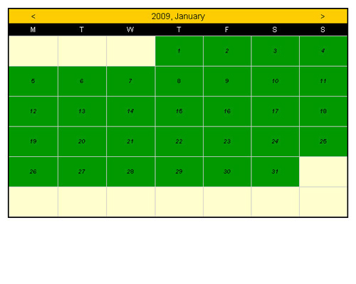 Booking Calendar Joomla extension,booking calendar joomla front-end