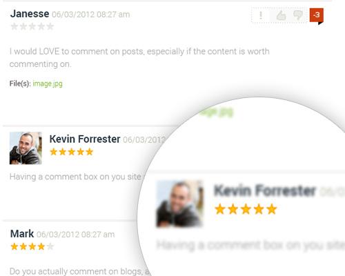 Post Comment Script by StivaSoft full screenshot
