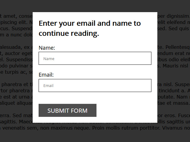 FREE JavaScript dialog box for your website
