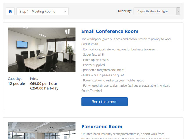 Meeting Room Booking System for your website